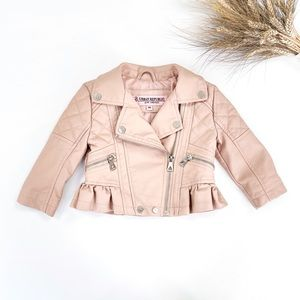 18M Urban Republic Pink Moto Jacket